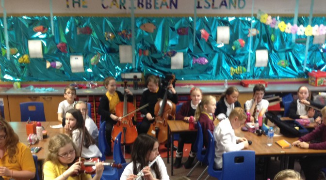 Improvisation Workshops in Primary Schools